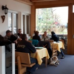 Schlachpartie im Almstüble Bergfrieden Damüls 2017